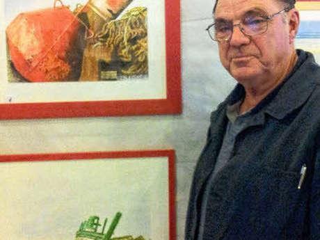 Exposition peintures Bernard Abafour