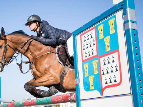 Concours de Saut d'Obstacle jeunes chevaux