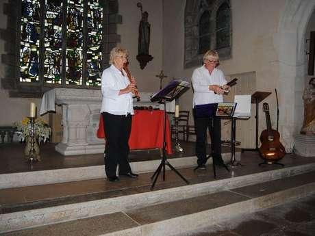 """Concert de musique Baroque """"Duo Teckie"""""""