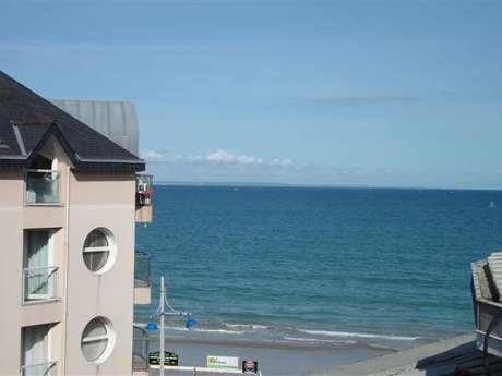 Appartement en cœur de station vue sur mer