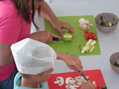 Atelier cuisine petits chefs farceurs 6/12 ans
