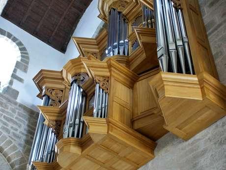 Visite sonore de l'orgue de l'église
