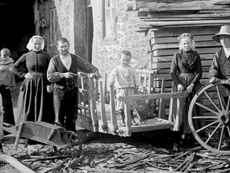 Exposition de photographies du début du XXè siècle