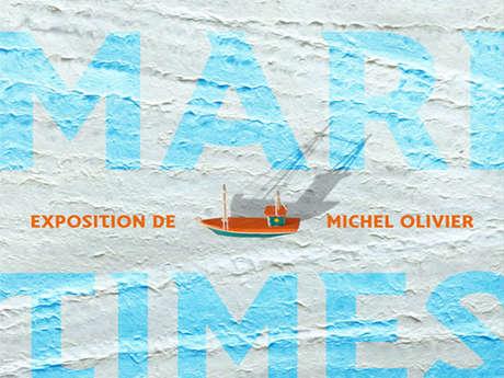 Expo « Impressions maritimes » de Michel Olivier