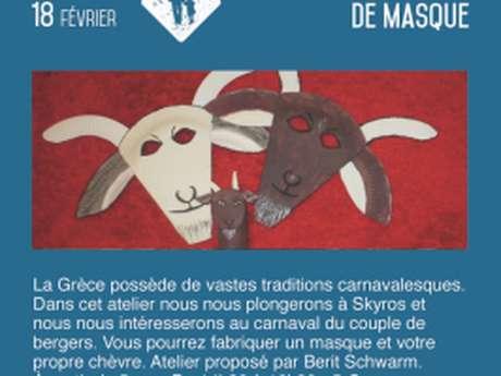 Atelier Fabrication de masque