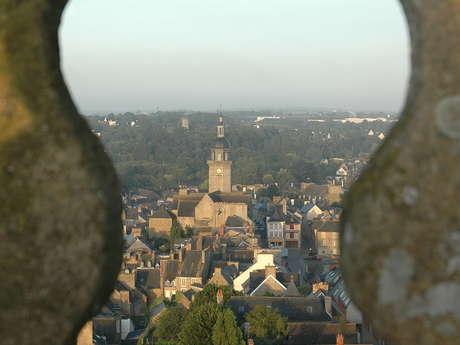 Visite de ville de Lamballe au fil des siècles