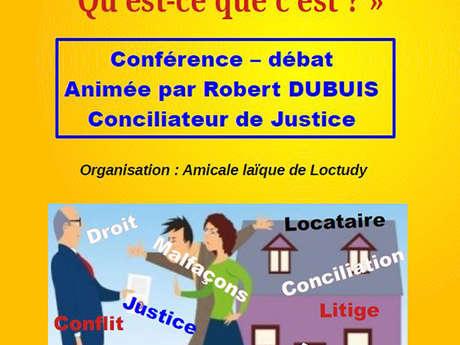 Conférence - La conciliation de justice