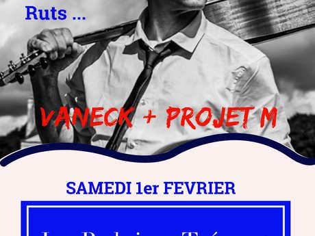 Concert Vanec et proget M