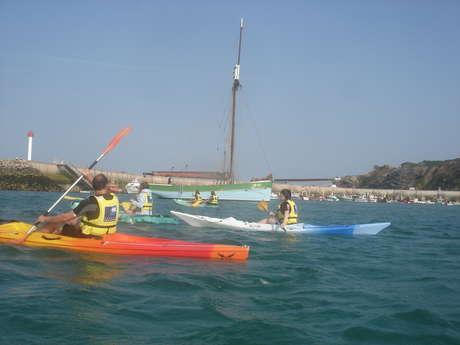 Découverte du Cap d'Erquy en kayak (niveau débutant)