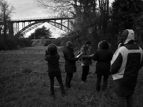 Balade racontée : le petit train des Côtes du Nord et le viaduc de Caroual dans le souvenir des rhoeginéens