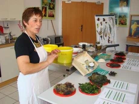 Atelier de cuisine aux algues par Scarlette Le Corre