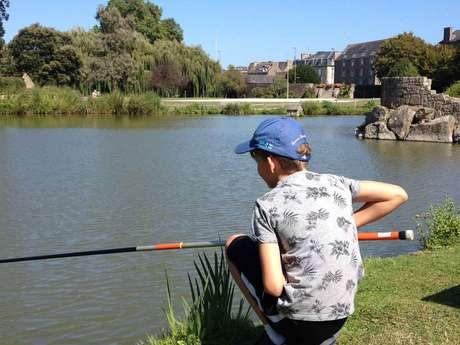 animation pêche : je pêche mon premier poisson