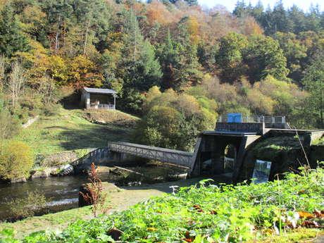 L'ancien barrage de Kernansquillec