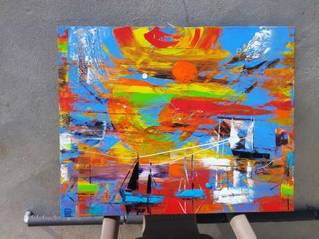 Exposition de peintures P GUIVARC'H