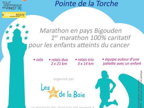 Passage du Marathon Les Etoiles de la Baie