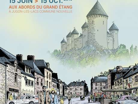 "Exposition en plein air ""Jugon se raconte en BD"""
