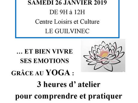 Atelier Yoga, gestion du stress