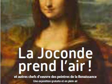 """Visite guidée autour de """"La Joconde prend l'air"""" à Quessoy"""