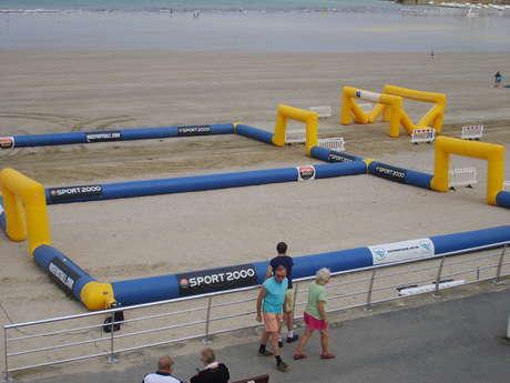 Beach Soccer avec la ligue de foot