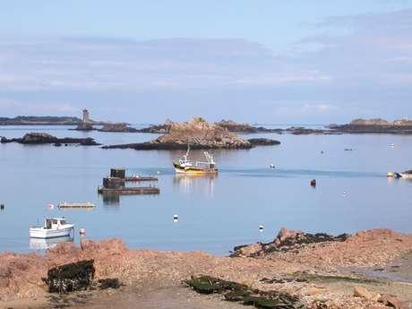 Port de Loguivy et Pors Even