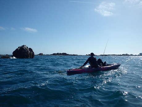 Pêche Kayak Finistère - Joris Parpaillon