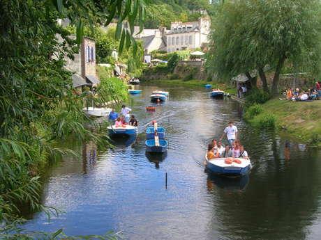 Promenades découverte des lavoirs en barques