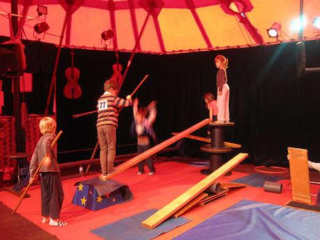 Stage de Cirque 4/5 ans
