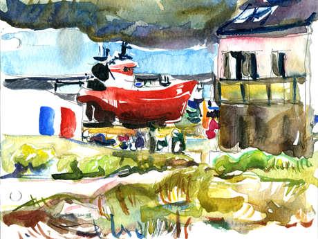 Stage de dessin et peinture en plein air - 5 demi-journées