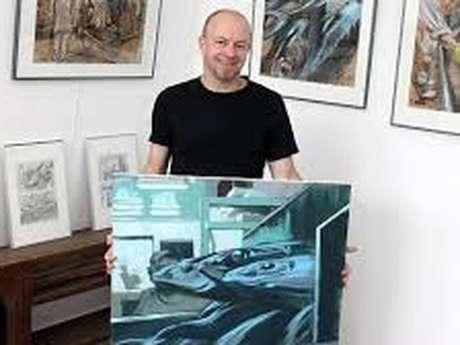 Exposition graphisme et illustrations Steven Mazé