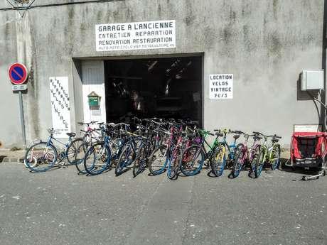 Location, réparation et vente de vélos - Garage à l'Ancienne