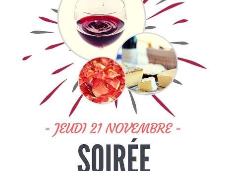 Soirée Beaujolais au Spa Marin