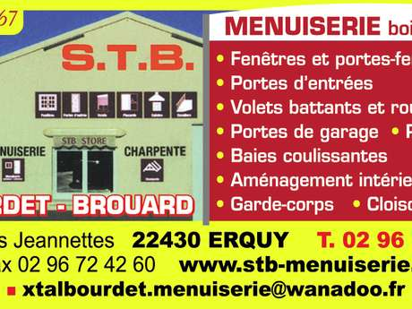 Menuiserie - Charpente - Alu et PVC (agencement) - S.T.B Talbourdet-Brouard