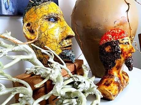 Sculptures buissonnières