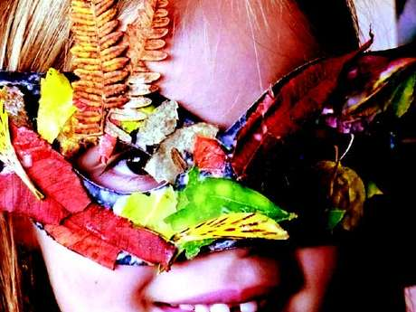 Atelier masques végétaux
