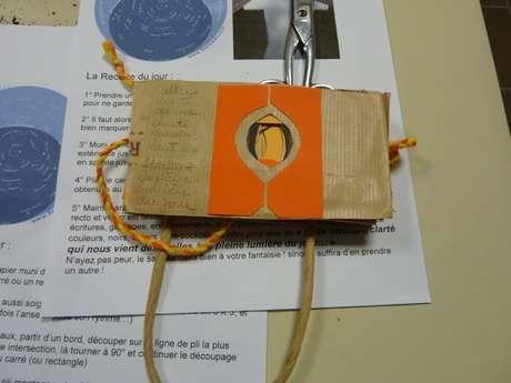 Atelier Carnet de lecture à la librairie Mots et Images