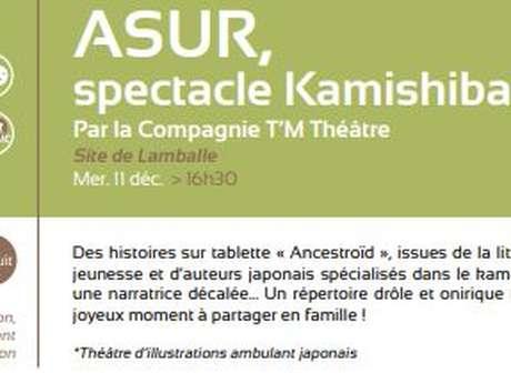 ASUR, spectacle Kamishibaï