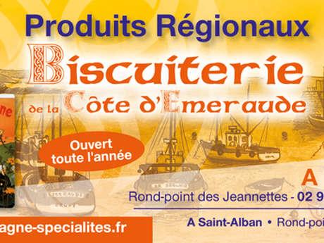 Produits régionaux - La Biscuiterie de la Côte d'Emeraude