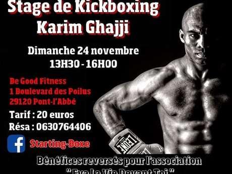 Stage - Kickboxing avec Karim Ghajji
