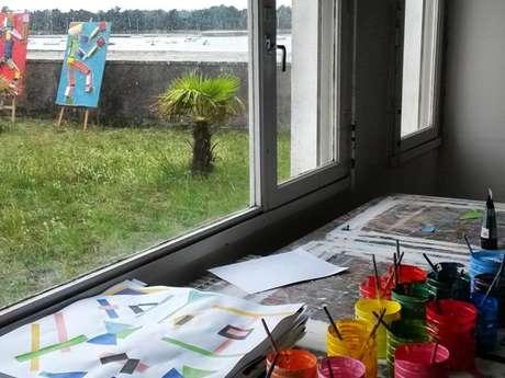 Atelier d'Arts Plastiques à l'année pour les 6/10 ans (Mercredi)