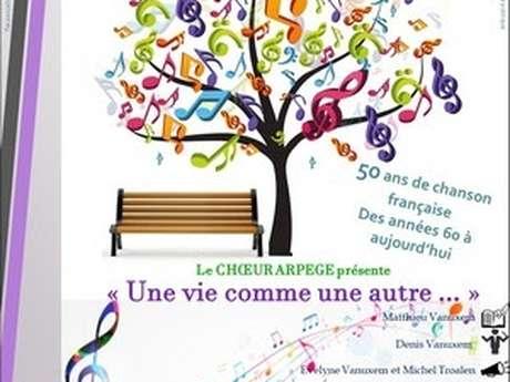 """Comédie musicale de Matthieu Vanuxem : """" Une vie comme une autre..."""""""