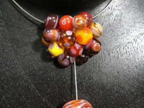 Stage de perle de verre au chalumeau