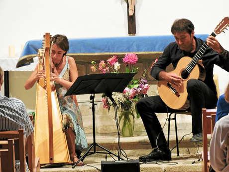 Concert du duo Nazca - Harpe et guitare