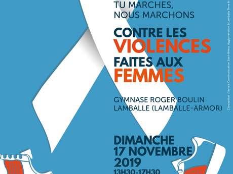Je marche, tu marches, nous marchons contre les violences faites aux femmes