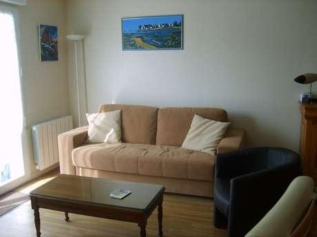 Appartement avec balcon dans le centre d'Erquy
