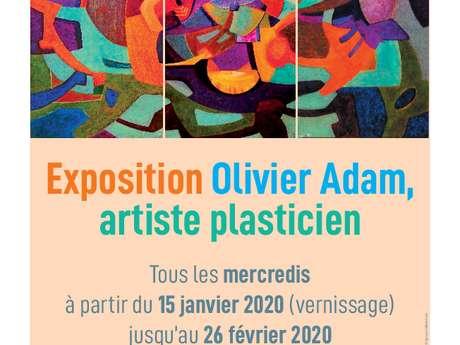 Exposition Olivier Adam, artiste plasticien