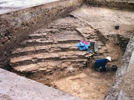 Visite des chantiers archéologiques