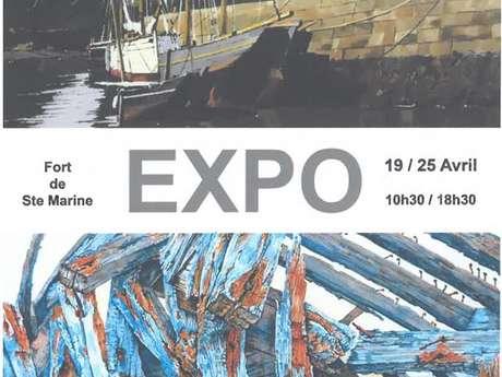 Exposition peinture - Maurice Le Breton et Henri Belbéoc'h