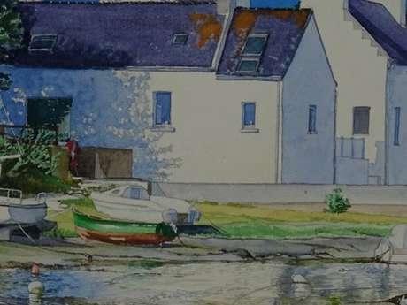 Exposition aquarelle - Serge Degouvestz