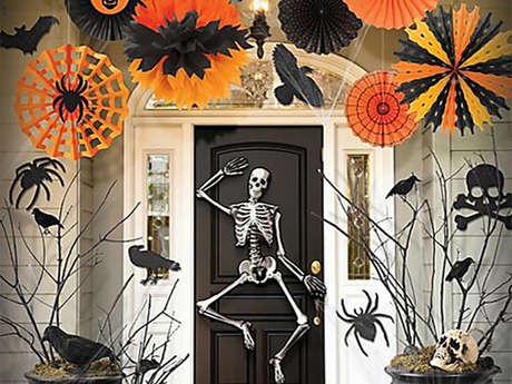 Atelier scrapbooking - Fabrique tes décorations d'Halloween 7/10 ans
