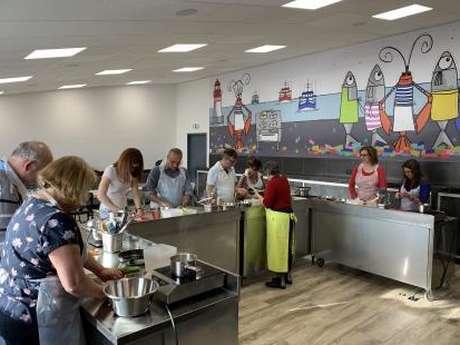 Atelier de cuisine à l'Hatelier - Retour du marché